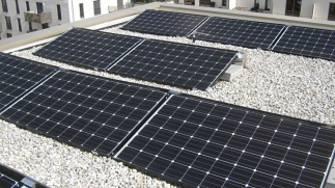 Solarmodule Mieterstromanlage München