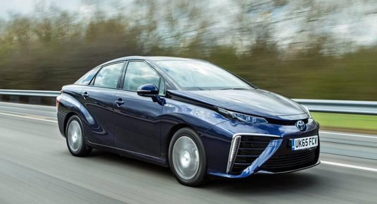 Toyotas Mirai Wasserstoffauto