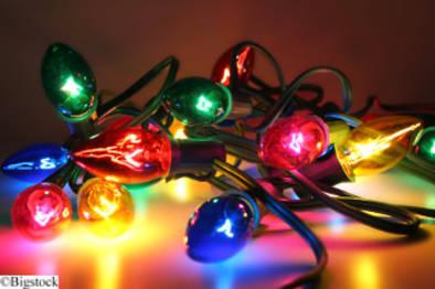 Klimafreundliche Weihnachten - Weihnachtsbeleuchtung