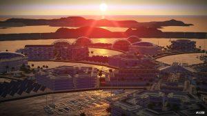keine Steuern auf der künstlichen Insel