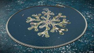 Entwurf schwimmende Stad © The Seasteading Institute