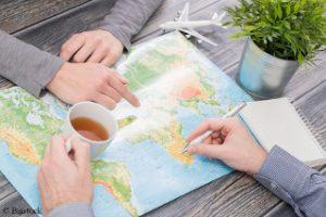 Umweltfreundliches reisen