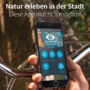 "Smartphone-App ""Naturblick"". Foto: BMUB"
