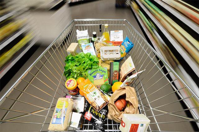 energiesparende Supermärkte