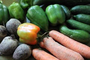 Verschiedenes krummes Gemüse