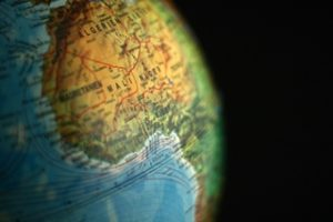 Globus Mali Niger