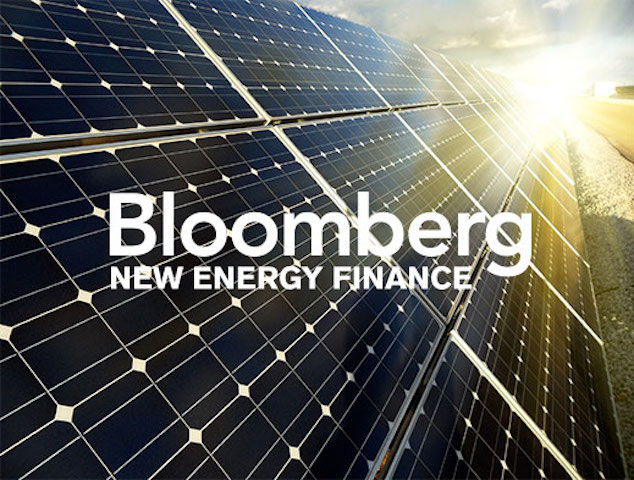 Foto: Bloomberg New Energy Finance