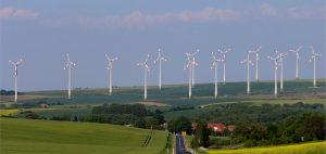 Windpark Dreiberg in Sachsen-Anhalt. Foto: windpark druiberg gmbh
