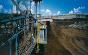 Sanierung des Braunkohlentagebaus