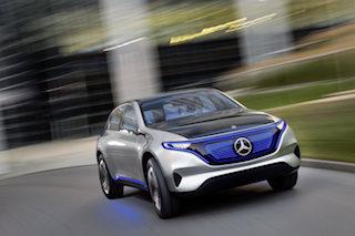 Elektro-Offensive Daimler