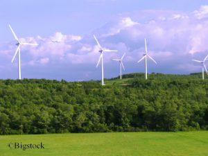 Erneuerbare Energie witterungsbedingt