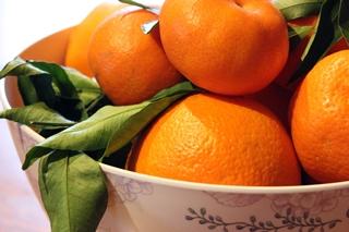 Orangen frisch aus Spanien