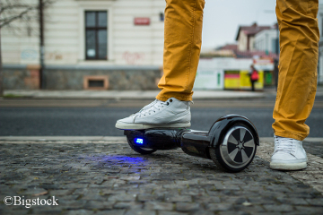 Hoverboard als alternative Fortbewegung