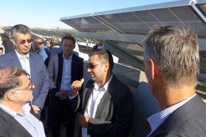 Solarstrom mit Photovolatik im Iran - Eröffnung Solarpark in Rafsanjan