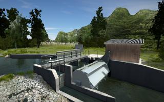 Alternative für Wasserkraft