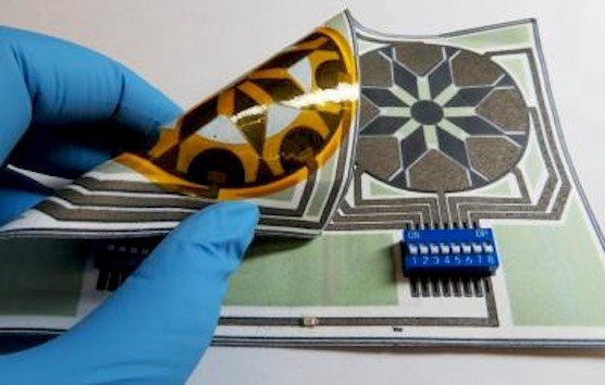 Batterie aus Papier