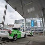 Erstmals Clever Shuttle mit Wasserstoff-Fahrzeugen