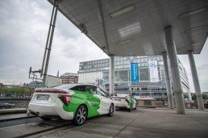Hamburg Vorreiter von Wasserstoff-Fahrzeugen