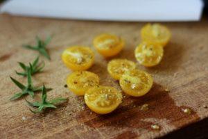 Weihnachtsgeschenke: Tomaten mit Gewürzsalz selber hergestellt Geschenkidee