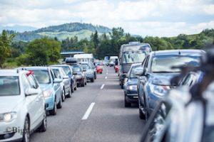 Greenpeace legt Mobilitässzenario vor. Weniger Verkehr = weniger CO2-Emissionen.