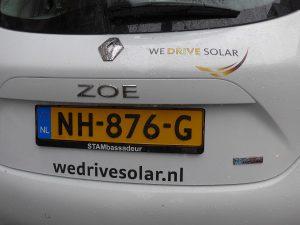 """Iniitiative """"We drive solar"""" in Utrecht"""