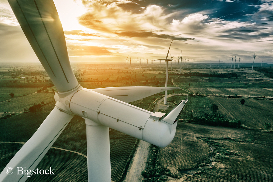 Anteil Erneuerbarer am Energieverbrauch wächst 2017. Spitzenreiter Windkraft.