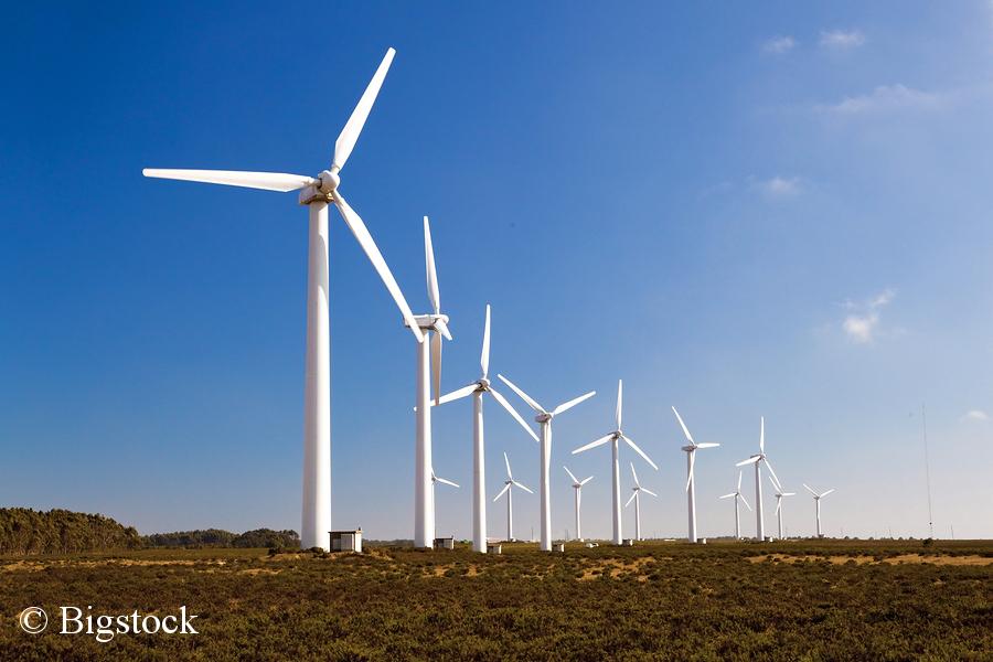 Saubere Premiere auch dank 85 Prozent Windkraft.
