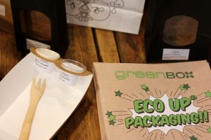 Take-away kann auch kompostierbar sein