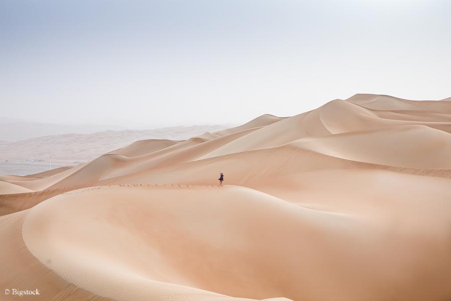 Sand Raubbau