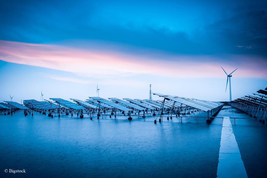 Solarzellen wandeln Regentropfen in Energie um