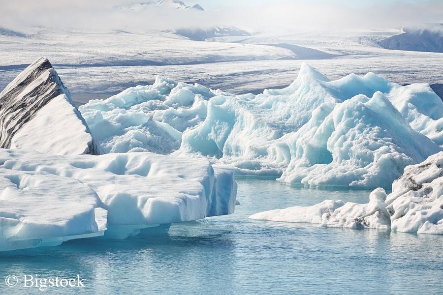 Auch bei m Zwei-Grad-Ziel schmilzt die arktische Eisfläche zu weit.