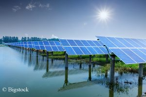 Erneuerbare Energien wachsen 2017 besonders Asien stark an.