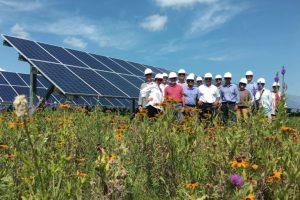 """Community Solar"" hat Vorrang in Minnesota."