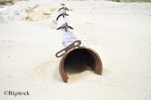 Der Sand wir rar
