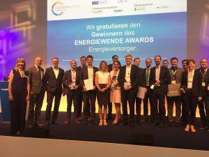 Die Sieger des Energiewende Awards für Energieversorger. (Bild: Solar Promotion).