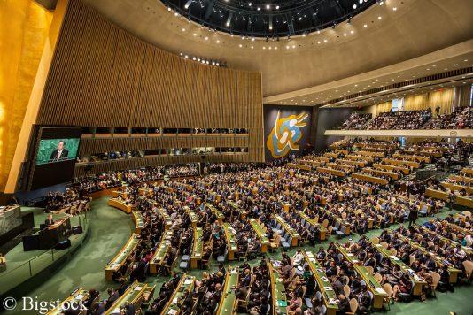 Das High Level Political Forum für nachhaltige Entwicklungen findet in den Vereinten Nationen in New York statt