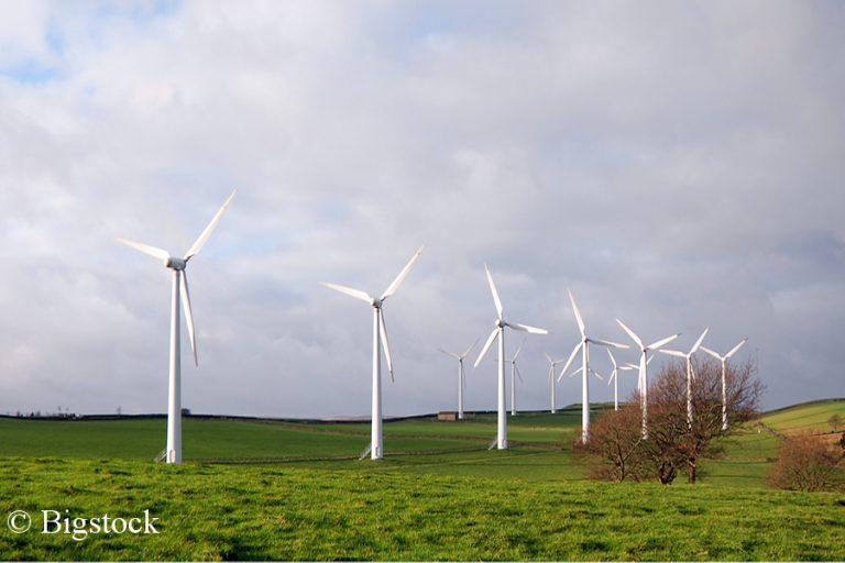 Rekordhalbjahr 2018: Windenergie besonders im Januar ganz stark.
