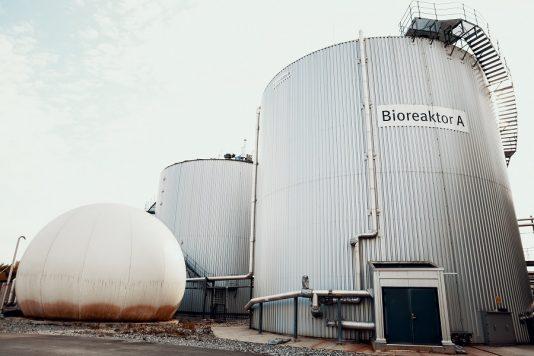 Biogasanlage bei Oslo