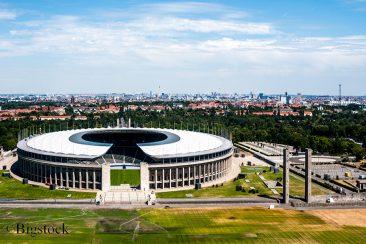 Einer von zehn Spielorten bei der EM 2024: Das Berliner Olympiastadion.