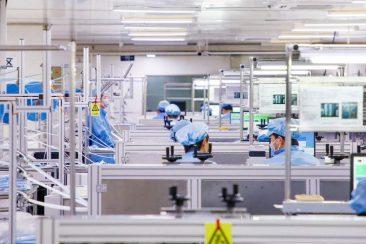BYD wird in der Corona-Krise neben Produzent für Elektromobilität und Batterie-Speicher Lieferant für Gesichtsmasken und Desinfektionsgel ©BYD